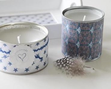 Kerzendose- candle tin DIY