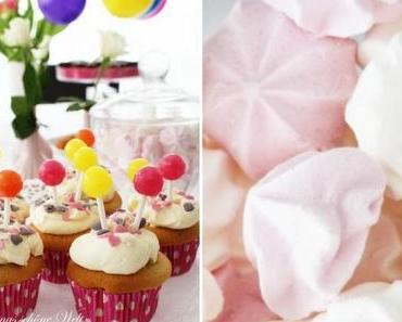 Luftballon-Cupcakes zum Kindergeburtstag