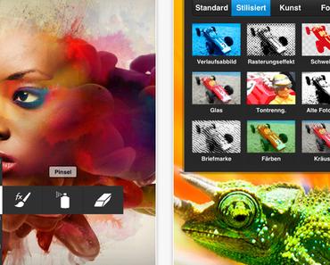 [App] Adobe Photoshop touch für iPhone im App Store