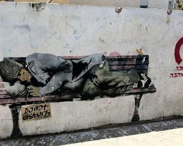 Zeitgenössische Kunst in den Straßen Tel Avivs
