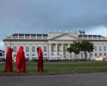 Kunst Auktionshaus Schlosser Bamberg Auktion Kielnhofer Manfred, Kleiner Wächter der Zeit Skulptur Lichtobjekt Zeitgenössische Kunst light art sculpture