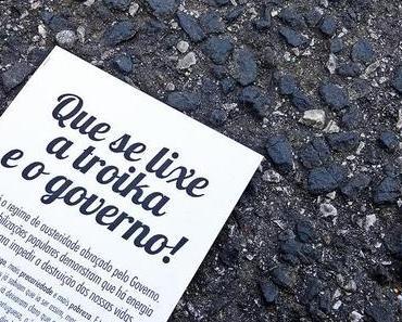 """Hunderttausende protestieren in Portugal: """"Zum Teufel mit der Troika!"""""""