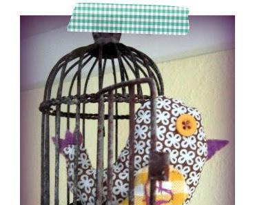 DIY: Vogel- Anhänger selber nähen