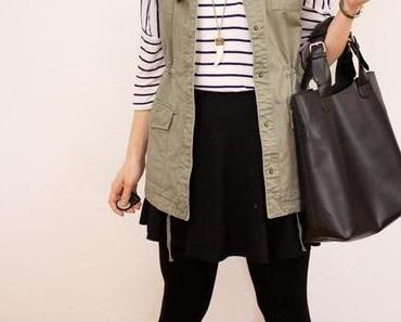 Outfit: Frühlingsimpressionen oder Waistcoat meets Stripe Shirt