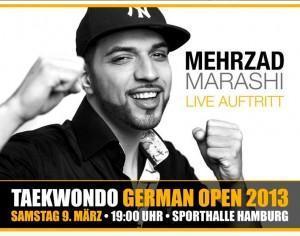 Mehrzad Marashi live beim Taekwondo German Open 2013