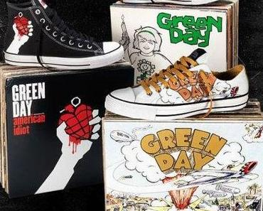 #Converse Chucks Green Day Limited Edition Ultra rare – Music Collaboration