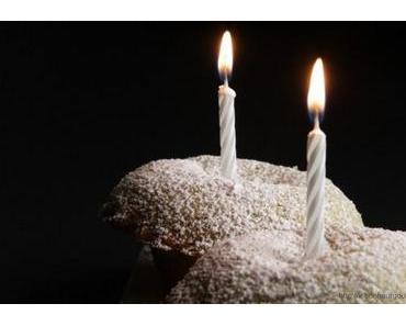 Vanille-Zitronen-Muffins und ein Happy Birthday!