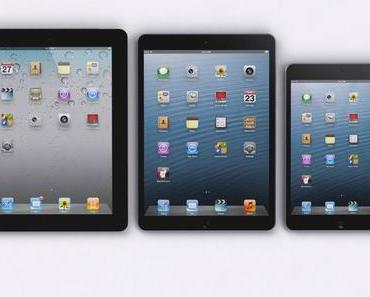 iPad 5 und iPad mini mit Retina-Display im April, iPhone 5S im August?