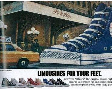 #Converse Print Kampagne Spring 1985 – Limousines for your feet …