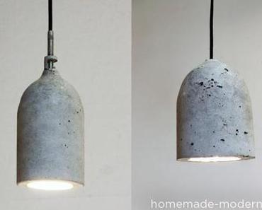 zement-lampe