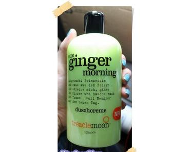 Treaclemoon Duschcreme 'One Ginger Morning' *Review*