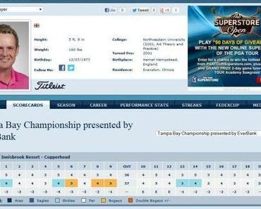 PGA Tour Tampa Bay Championship – Tag 1