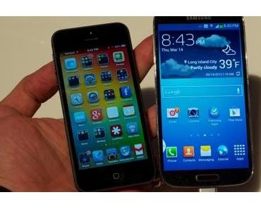 iPhone 5 vs. Samsung Galaxy S4 [Video]