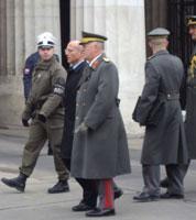 Parlamentsdebatte über den neuen Verteidigungsminister