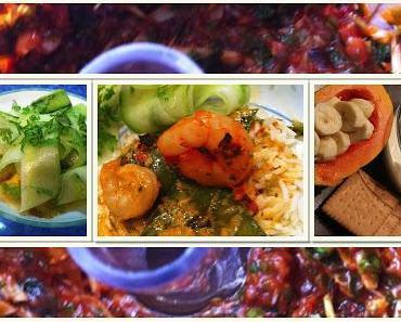 9.Tag Jamie Oliver 30 Minuten Menü- Rotes Thai-Curry mit Riesengarnelen