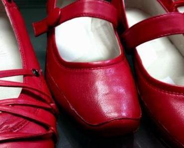 Rote Schuhe vom Papst