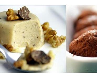 Süße Oster-Tubern: Getrüffelte Panna cotta und Pralinen