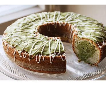 Rezept: Matcha-Joghurtkuchen (Becherkuchen)