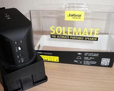 [Review] Jabra Solemate: mobiler Bluetooth-Lautsprecher mit Freisprecheinrichtung