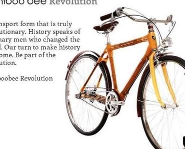 Bamboo Bee: Das Fahrrad aus Bambus