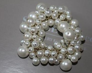 New In: maxi pearl bracelet