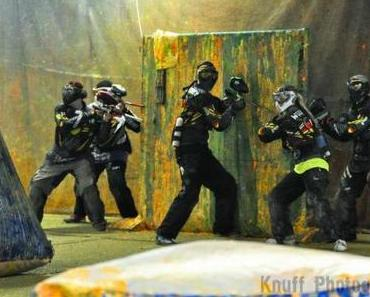 Paintball im Team