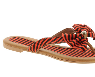 New In   Asos Flip Flops mit Schleife