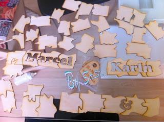 Puzzle als Hochzeitsgeschenk von allen Gästen