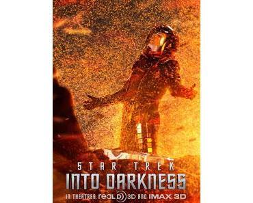 Star Trek Into Darkness: Drei weitere Charakter-Poster erschienen