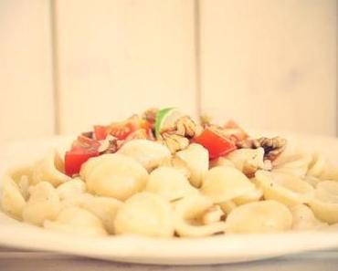Orecchiette mit Gorgonzola und Walnüssen