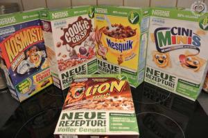 Nestle Cerealien Test