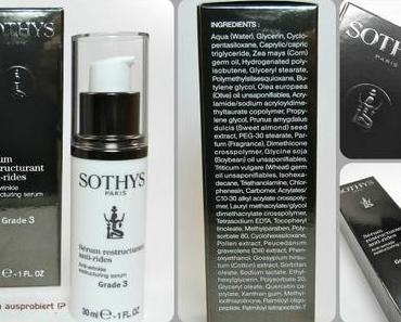 Review: SOTHYS Anti Age Sérum réstructurant anti-rides