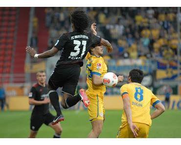 Braunschweig kehrt nach über 28 Jahren zurück in die Bundesliga - Vrancic verpasst Schanzern den späten Knock-Out