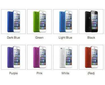 [Bilder] Plastik-iPhone in 10 verschiedenen Farben