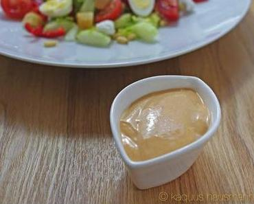 vom Sternekoch, tomatisiertes French Dressing