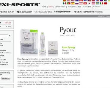Detox mit Pyour von Flexi-Sports