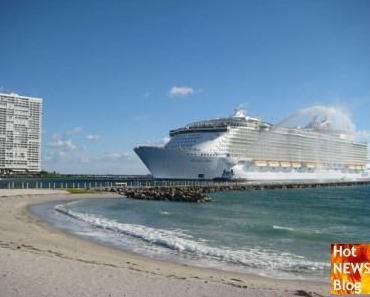 Allure of the Seas - grösstes Kreuzfahrtschiff der Welt