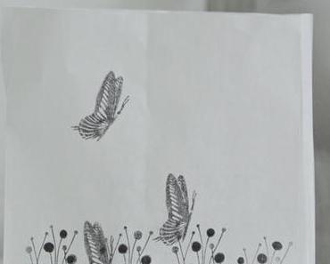 uprecycling - Stifteutensilo - Sommerwiese auf Windlicht DIY
