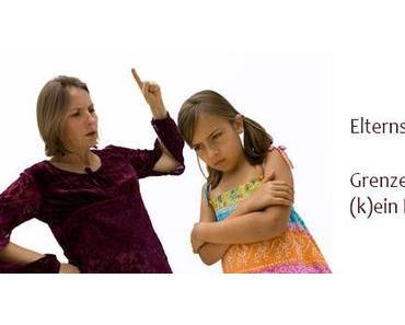 Termin Elternschule: Grenzen setzen – (k)ein Problem