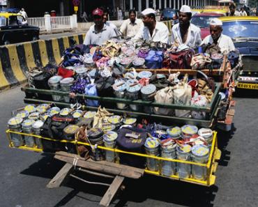 Der beste Paketdienst der Welt? Sind die Dabbawalas in Mumbai