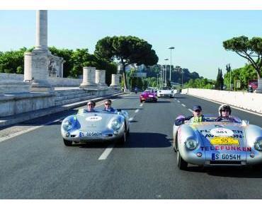 VW Konzern Klassiker fuhren die legendäre Mille Miglia