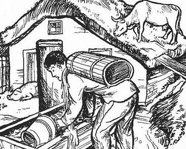 Von Bauer und der Hauswirtschaft • Norwegisches Märchen