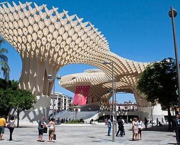 Das Metropol Parasol in Sevilla