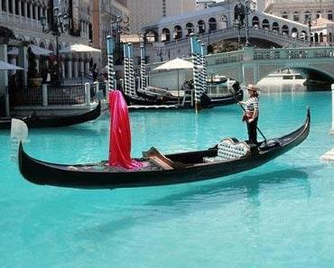 Gondola guardians at public Venice Biennial project by Manfred Kielnhofer contemporary art design sculpture exhibition