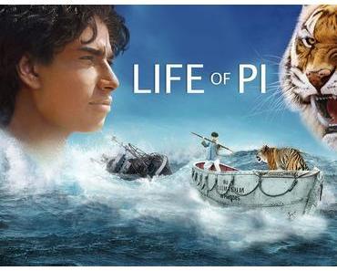 Review: LIFE OF PI: SCHIFFBRUCH MIT TIGER - Überlebenskampf als träumerisches Kaleidoskop