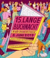 Für alle Berliner und Berlin-Besucher - die lange Buchnacht steht wieder vor der Tür