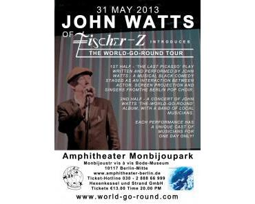 John Watts im Amphitheater Monbijoupark