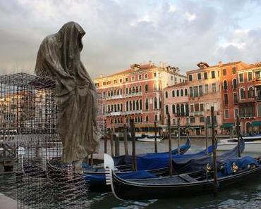Public Venice Art Biennial T-Guardians by Christoph Luckeneder and Manfred Kielnhofer sculpture art show