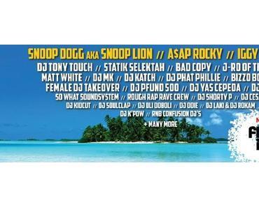 Snoop Dogg & A$AP Rocky auf dem Fresh Island Festival