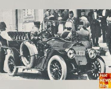 Der Unglückswagen Gräf & Stift von Thronfolger Franz Ferdinand